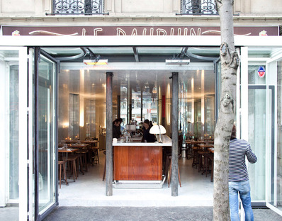 Le Dauphin, Paris. Clément Blanchet with Rem Koolhaas