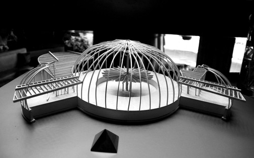 Model of the Ford House. Photo courtesy of Anthony V. Thompson