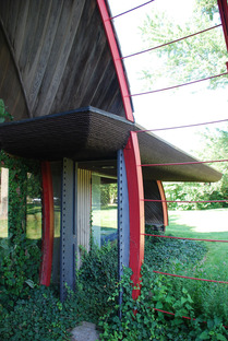 Ford House. Bruce Goff. Photo courtesy of Rachel Cole